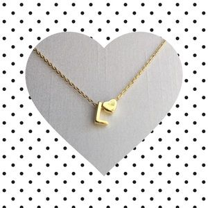 Jewelry - Letter L Initial Necklace